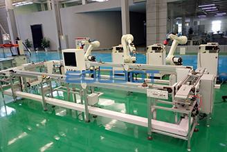工业机器人去毛刺系统实训线