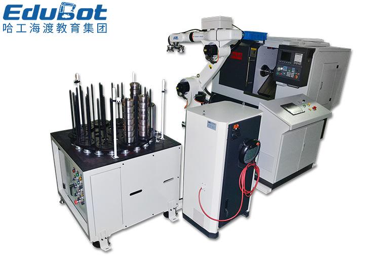 工业机器人机床上下料工作站