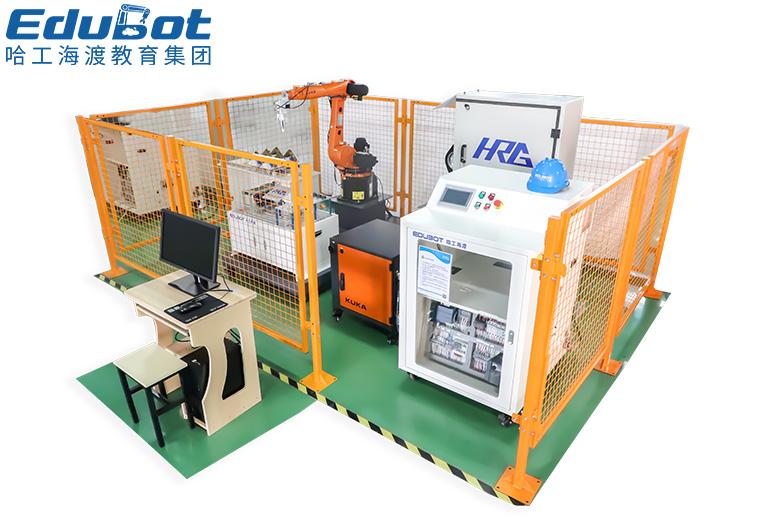 工业机器人打磨技能考核工作站