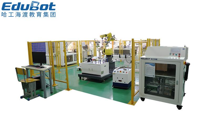 工业机器人码垛搬运考核工作站
