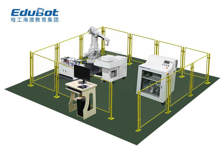 工业机器人喷涂技能考核工作站