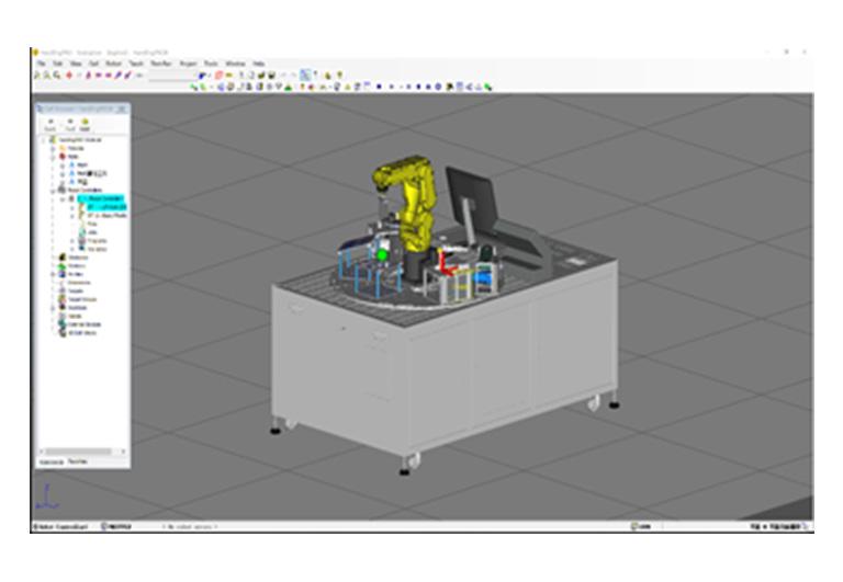 工业机器人虚拟仿真软件(FANUC)